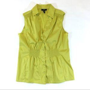 Alfani Green Sleeveless Blouse (16)